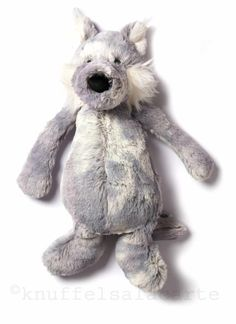 Willow the softest wolf / Jellycat http://www.knuffelsalacarte.com/Willow-Wolf-p-16801.html
