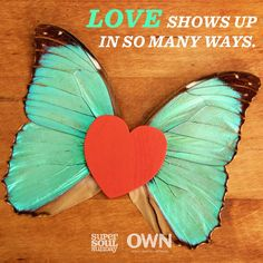 Tell us below how does love show up in your life?