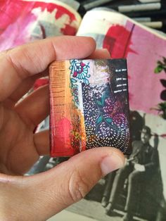 mini journal 2 - bybun - artist Roxanne Coble
