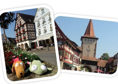 Muñecos viajeros: La Selva Negra. Culito Rana y Gamberro en Gengenbach, Alemania #selvanegra #Schwarzwald #Alemania   http://blog.fluff.es/2013/07/munecos-viajeros-la-selva-negra-i.html