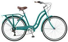 "Schwinn Women's S3067WM Laurel 7 Speed Cruiser Bike , 16""/Small, Green - http://www.bicyclestoredirect.com/schwinn-womens-s3067wm-laurel-7-speed-cruiser-bike-16small-green/"