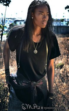 45 Ideas Fitness Model Black Female For 2019 Butch Fashion, Queer Fashion, Tomboy Fashion, Androgynous Women, Androgynous Fashion, Androgyny, Black Female Model, Female Models, Pretty People