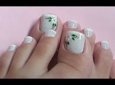 Easy healthy breakfast ideas on the good day song Cute Toe Nails, Toe Nail Art, Pretty Nails, Pedicure Designs, Toe Nail Designs, French Pedicure, Manicure And Pedicure, Hair And Nails, My Nails