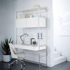 """Lacquer Storage 49"""" Desk Set #westelm"""
