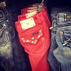 Im in love with these red ones and the leather ones there!!!