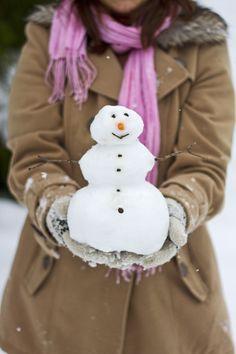 Scale Model Snowman