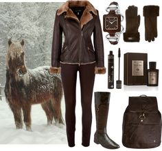 """Snow on the Horse"" by dkelley202 on Polyvore"