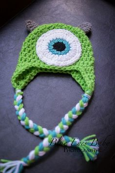Special Order for zhbs1 - 3 To 6 Month Mike Wazowski Hat on Etsy, $20.00