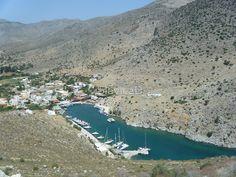 Amazing Greek Island Sailboat Harbor View