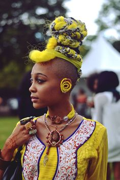 Afropunk Fest 2014, Afropunk fest style. Images by Brianna Roye.