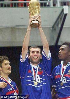 France 1998 World Cup champions reunite to celebrate 20th anniversary 893ba5c0b91