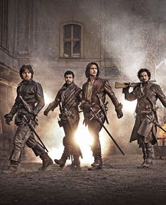 THE MUSKETEERS 2014 -- looking awesome!