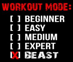 OnTrack Motivation - Become a beast with your #workout and #exercise program.