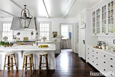French bakery inspiration in Tennessee. Designer Jeannette Whitson. House Beautiful.