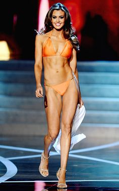 Miss USA Erin Brady as she competes in the swimsuit portion of the 2013 #MissUSA Competition.
