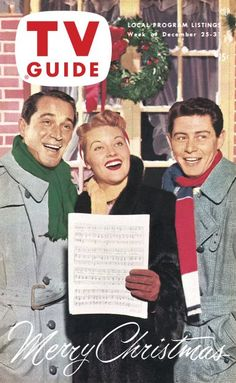 Perry Como - Patti Page - Eddie Fisher; TV Guide Christmas