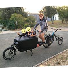 Remorquer un #BMX pour l'entraînement de #bmxracing 😎 Bmx, Baby Strollers, Motorcycle, Children, Vehicles, Molle Pouches, Trial Bike, Baby Prams, Young Children