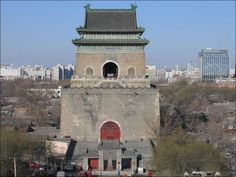 china tourist attractions old Beijing bell tower | Bell Tower Photos Tour, Drum and Bell Tower Pictures, Drum and Bell ...
