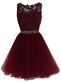 Maroon Tulle Lace and Beaded Homecoming Dress, Lovely Blue Formal Dress 2019 - Ellise M. Maroon Tulle Lace and Beaded Homecoming Dress, Lovely Blue Formal Dress 2019 - Dama Dresses, Cute Prom Dresses, Dresses For Teens, Pretty Dresses, Sexy Dresses, Dress Prom, Prom Gowns, Cute Short Dresses, 1950s Dresses