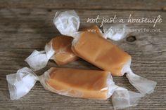 The BEST homemade caramels!!!