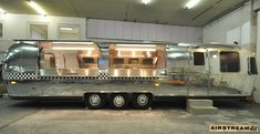 Food Concession Trailer, Catering Trailer, Food Truck Catering, Airstream Decor, Airstream Renovation, Vintage Airstream, Food Truck Festival, Food Trailer For Sale, Custom Bbq Pits