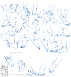 Anatomy - Human Feet by Canadian-Rainwater on deviantART via PinCG.com