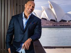 "Star Tracks: Friday, June 20, 2014 | SCENE STEALER | What a view! Dwayne ""The Rock"" Johnson suits up for a Hercules photo call at the Park Hyatt Friday in Sydney, Australia."