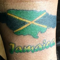 My Jamaican tattoo
