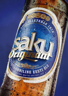 Saku Originaal Beer Beauty Renders on Behance