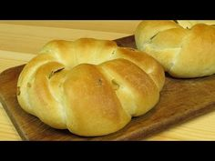 Витые булочки с чесноком и розмарином._Twisted rolls with garlic and rosemary