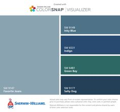 I Found These Colors With Colorsnap Visualizer For Iphone By Sherwin Williams Grays Harbor Sw