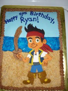 Jake and the Neverland Pirates Cake
