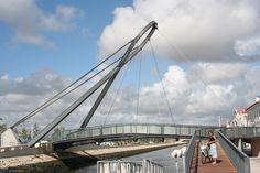 Puente Aveiro Suspension Bridge - Blue Wave