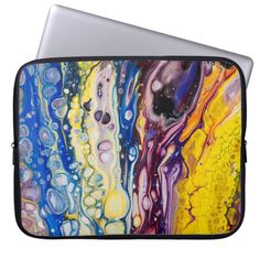 Choose from a variety of Yellow laptop sleeves or make your own! Shop now for custom laptop sleeves & more! Computer Sleeve, Custom Laptop, Fluid Acrylics, Buy Art Online, Fine Art Photography, Laptop Sleeves, Iridescent, Gifts For Him, Rainbow