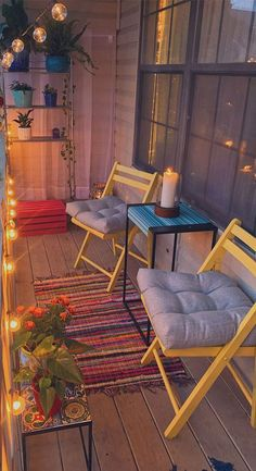Small Balcony Design, Small Balcony Garden, Small Balcony Decor, Outdoor Balcony, Balcony Ideas, Patio Ideas, Modern Balcony, Outdoor Decor, Diy Patio