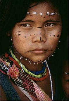 Venezuela | Samena child. | ©Dos and Bertie Winkel