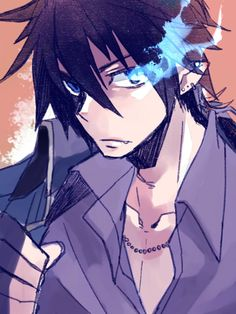 Voice Of Rin Okumura Blue Exorcist Behind The Voice Actors Anime Nerd, All Anime, Anime Guys, Manga Anime, An No Exorcist, Blue Exorcist Anime, Rin Okumura, Another Anime, Blue Flames