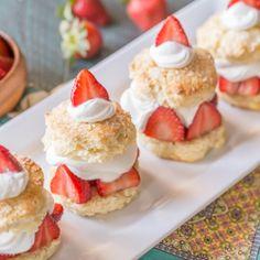 ... Strawberry Shortcake, Chocolate Strawberries and Homemade Strawberry