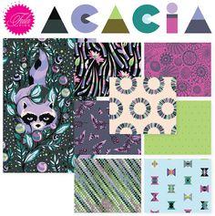 Nile Acacia Fat Quarter Bundle by Tula Pink for Free Spirit Fabrics
