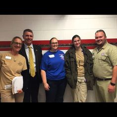 Dr. Victoria M. Weiss Congressman Rob Wittman RCC's main organizer and nursing professor Carrie Lewis and two RAM representatives take a breather at the end of RAM Day 1. #ram #freemedicalcare #nurse #nursing #rappahannock #community #college #comm_college #warsaw #warsawva #northernneck #northernneckva #nnk