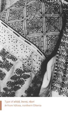 Folkwear-Society-Typology-altita-incret-rauri-valcea Folk Embroidery, Folk Costume, Alter, Embroidered Shirts, Moldova, Bulgaria, Sewing, Romania, Blouse