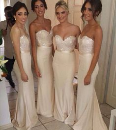 Bridesmaid dresses (in another color)
