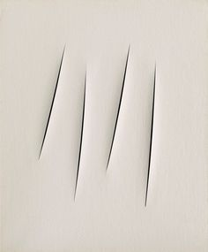 Lucio Fontana: A primer Magritte, Lucio Fontana, Matisse, Architecture Business Cards, Nouveau Realisme, Aries Art, Jean Arp, Black And White Abstract, Black Silk