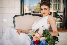 1 Gown 2 Ways: Luxe boho and the silver screen Hair and Makeup- The Beauty Case