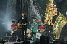 Mick, Keith, Charlie and Ronnie in Berlin