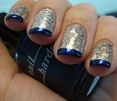 Pinned by www.SimpleNailArtTips.com - NAIL ART DESIGN IDEAS Festive French Tip