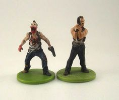 Zombicide characters painted by Warring Souls