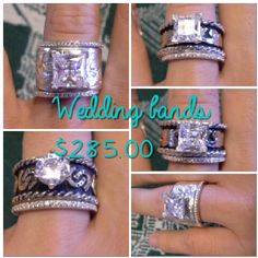 Custom Cowboy Wedding Ring Sets okay these are cool I admit it