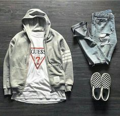 Find the latest stylish hoodies. Online store putting hoodies from hundreds of top-class grand labeling. Stylish Mens Outfits, Tomboy Outfits, Swag Outfits, Casual Outfits, Men Casual, Fashion Outfits, Vans Outfit Men, Vans Men, Hype Clothing