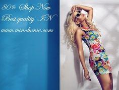 visit . www.winohome.com One Shoulder, Shoulder Dress, Shop Now, Summer Dresses, Shopping, Instagram, Fashion, Moda, Summer Sundresses